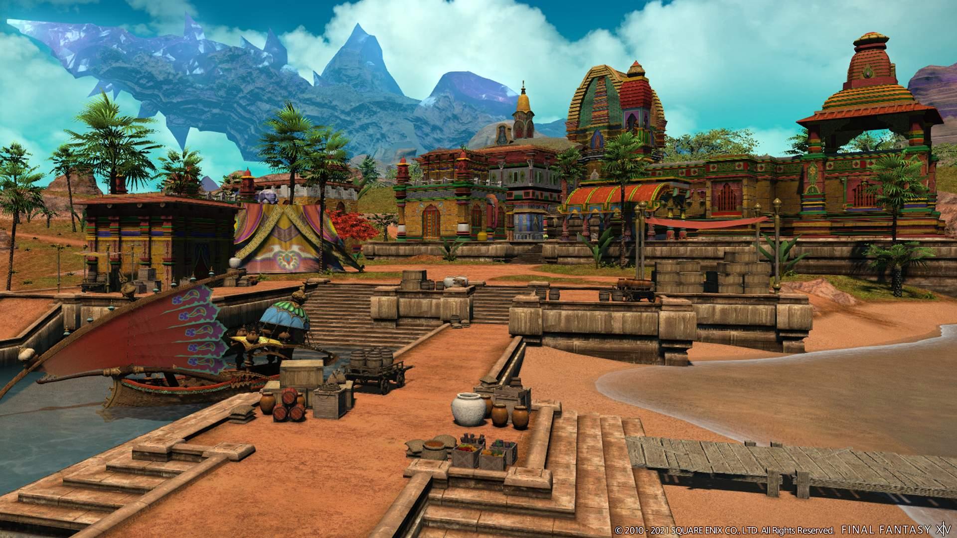 New area - Thavnair