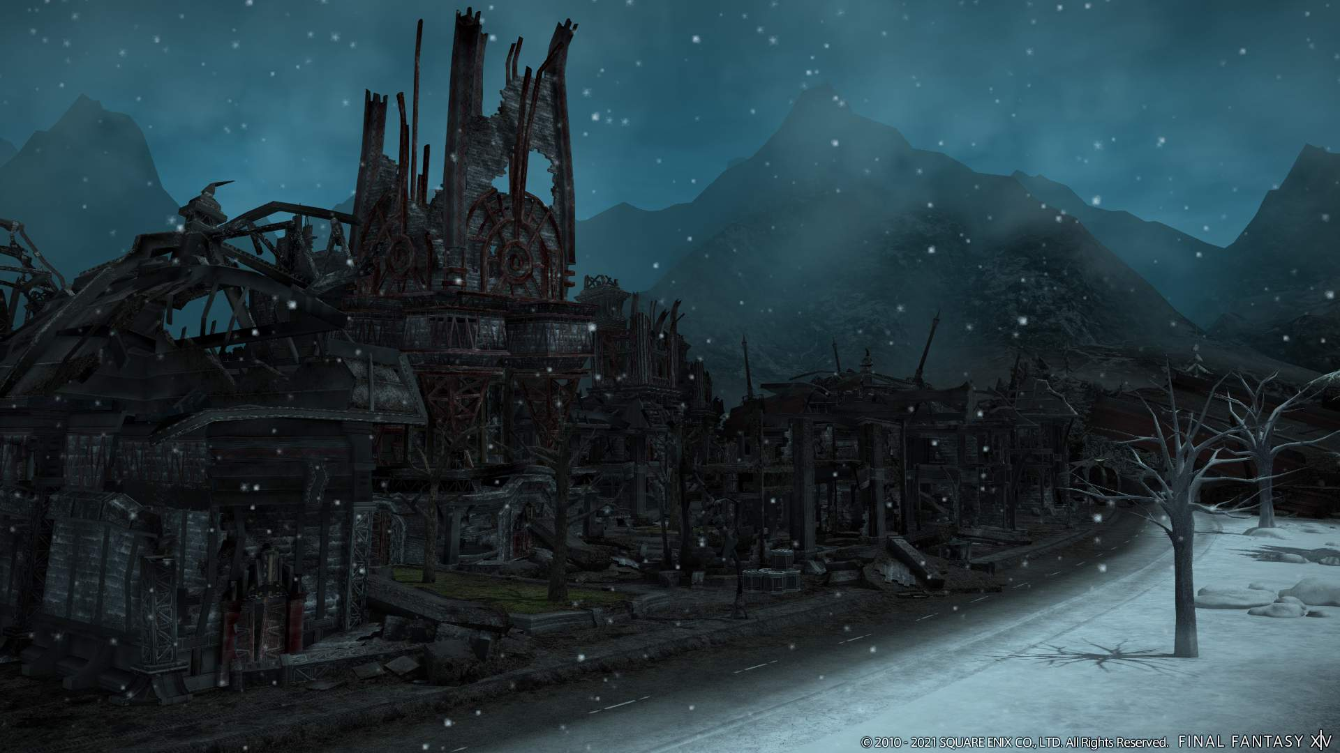 New area - Garlemald