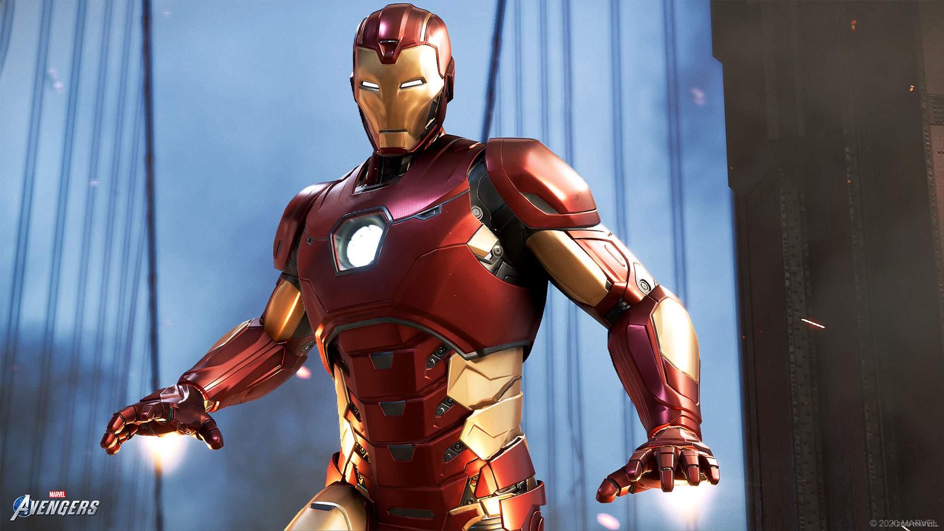 Assembling Marvel S Avengers Iron Man Square Enix