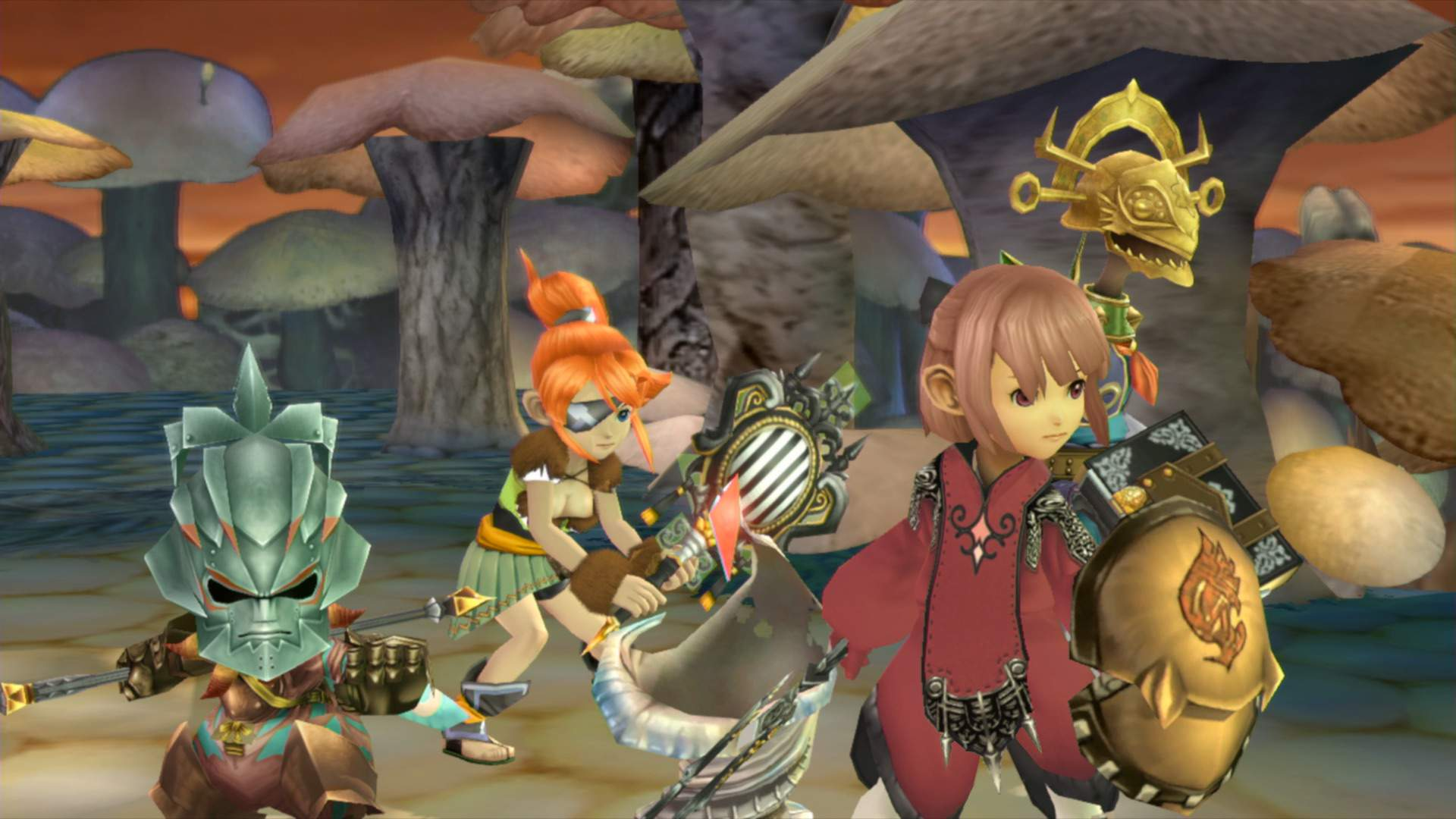Final Fantasy Crystal Chronicles Remastered Edition S Multiplayer Explained Square Enix