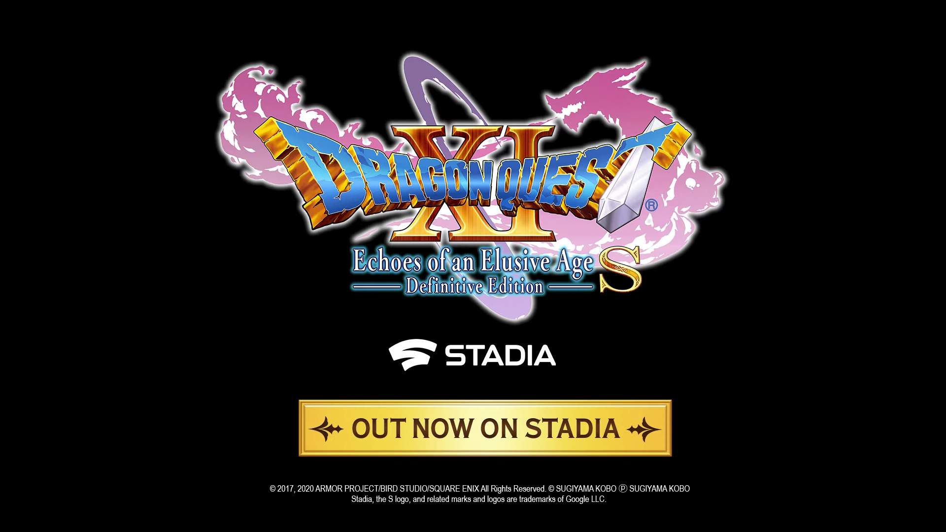 DRAGON QUEST XI S: Echoes of an Elusive Age – Definitive Edition | OUT NOW ON STADIA!