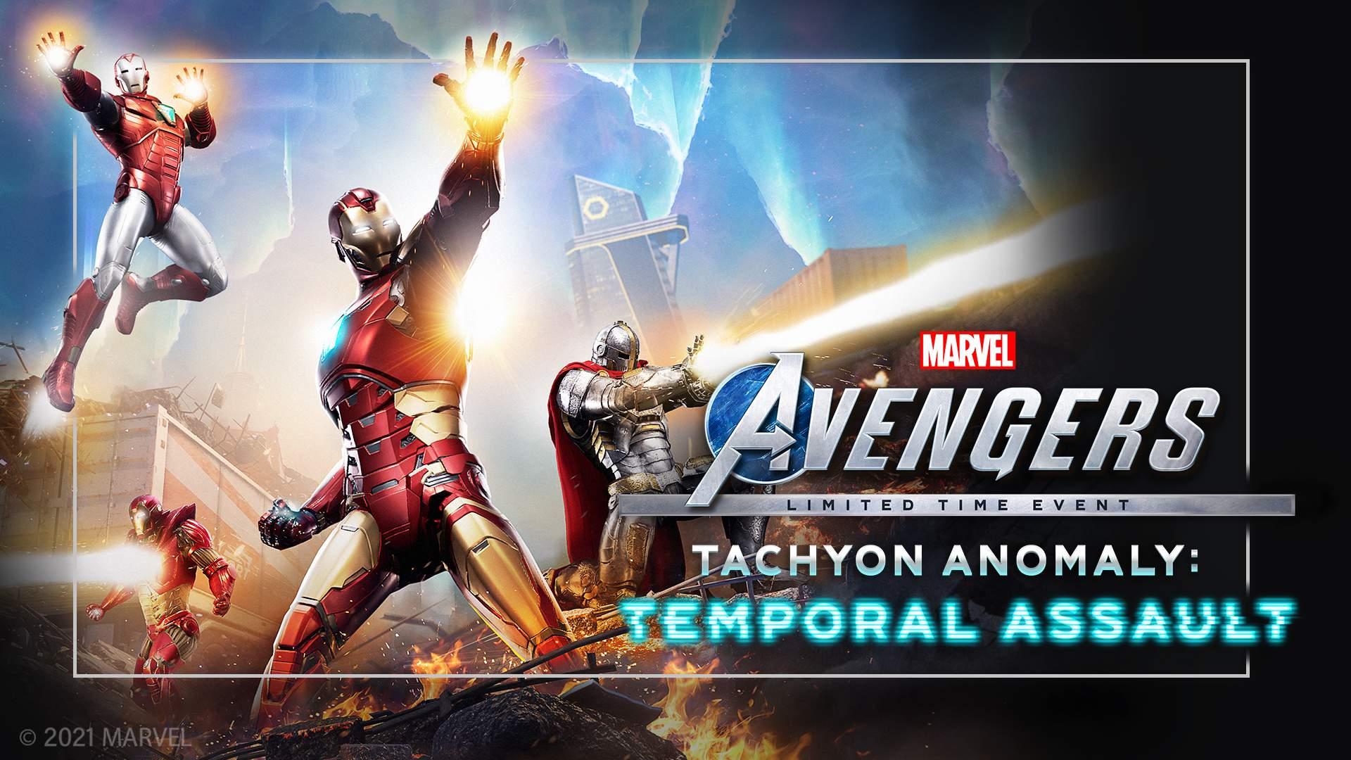 Marvel's Avengers - L'événement Anomalie Tachyonique