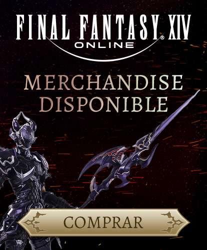 FINAL FANTASY XIV Online MERCHANDISE DISPONIBLE