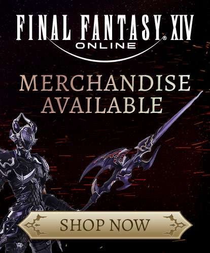 FINAL FANTASY XIV Online MERCHANDISE AVAILABLE